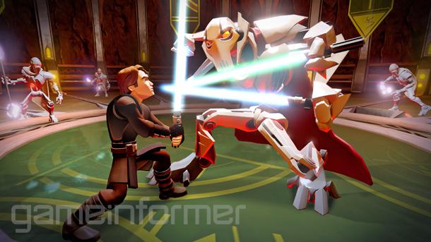 Disney Infinity 3 0 - Star Wars combat footage | GoNintendo