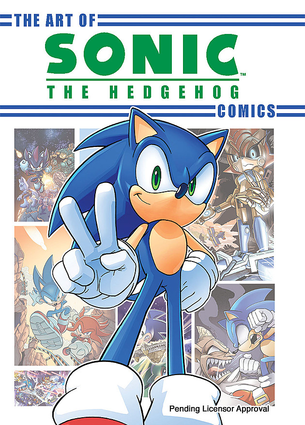 Archie Releasing The Art Of Sonic The Hedgehog Comics Gonintendo