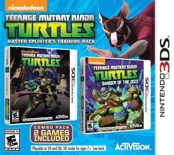 Teenage Mutant Ninja Turtles: Master Splinter´s Training Pack