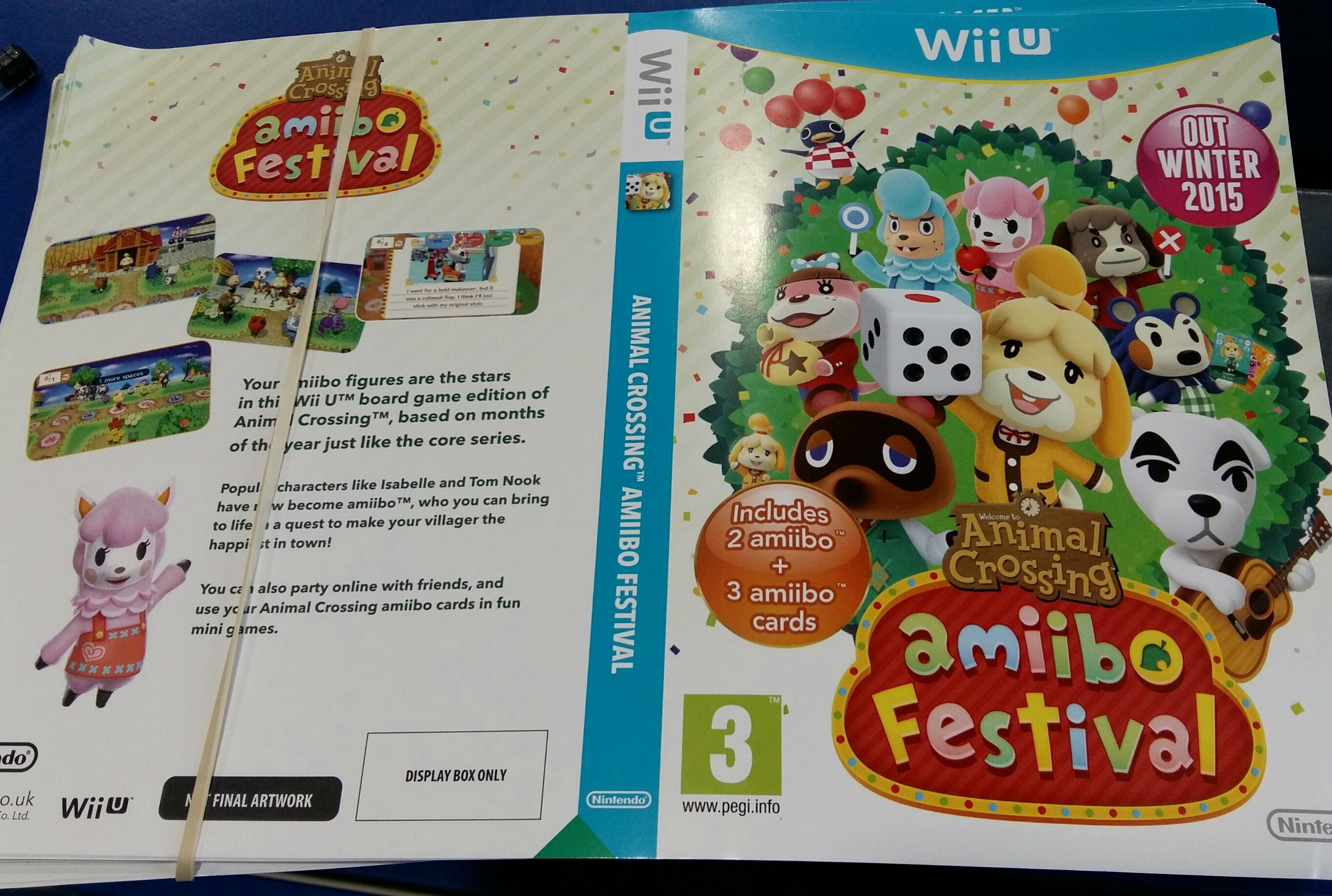 Assez Animal Crossing: Amiibo Festival promo box details included  HP04