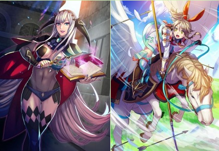 A look at Emma and Shade, Fire Emblem Cipher's new