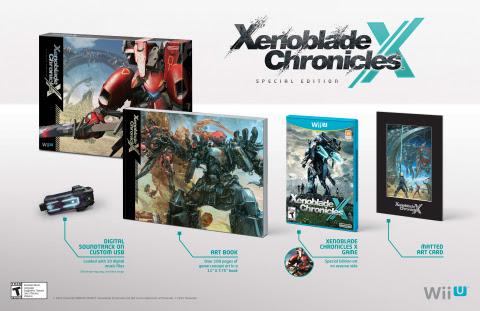 edición especial América Xenoblade Chronicles X
