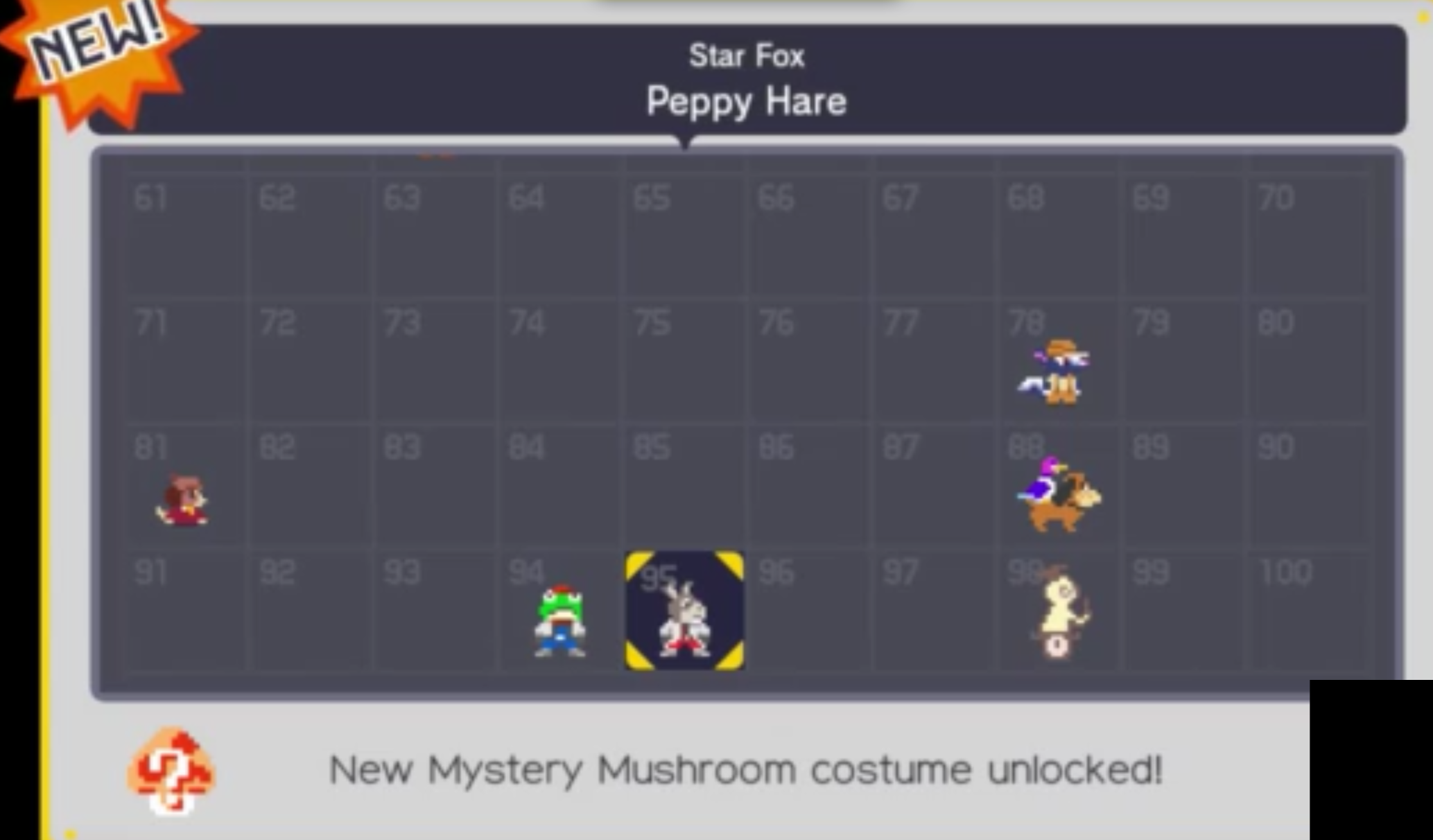 Super Mario Maker - 2 hours of footage, 2 more character costumes