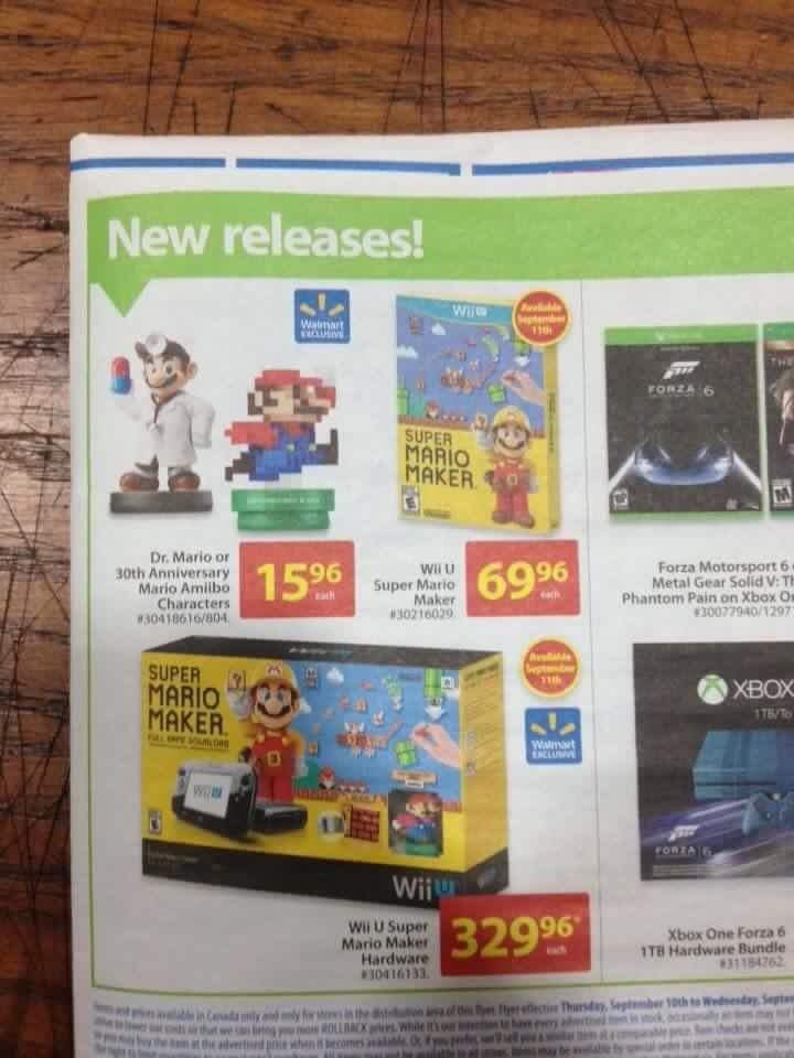 Canada Modern 8 Bit Mario Dr Mario Amiibo Are Walmart