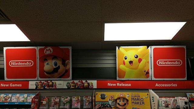 Walmart Wii U Games : Walmart wii u ds sections being combined under one red