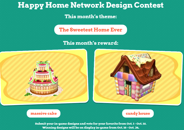 Animal Crossing: Happy Home Designer - first official design contest ...