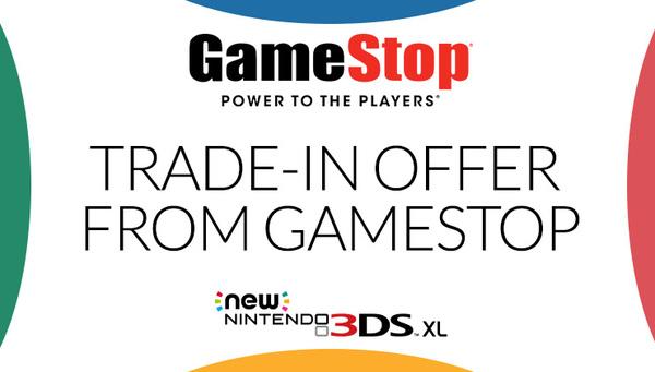Nintendo 3ds system trade in value gamestop