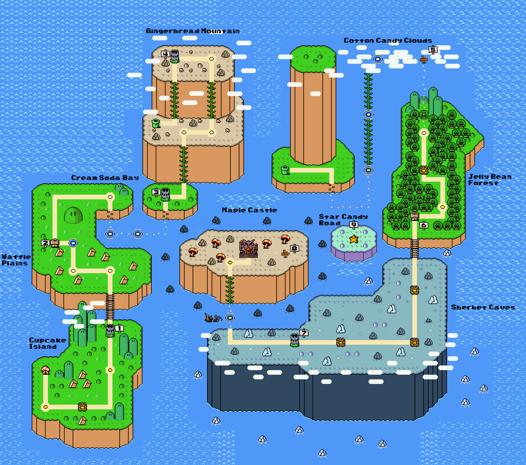 Super mario world map and level makers thepixfo super mario maker fan creates gumiabroncs Choice Image