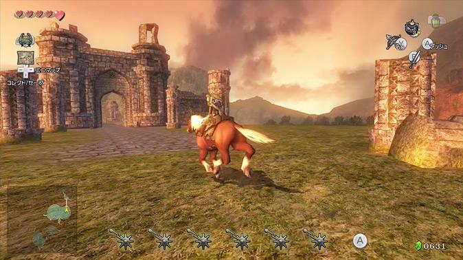 twilight princess how to make horse jump