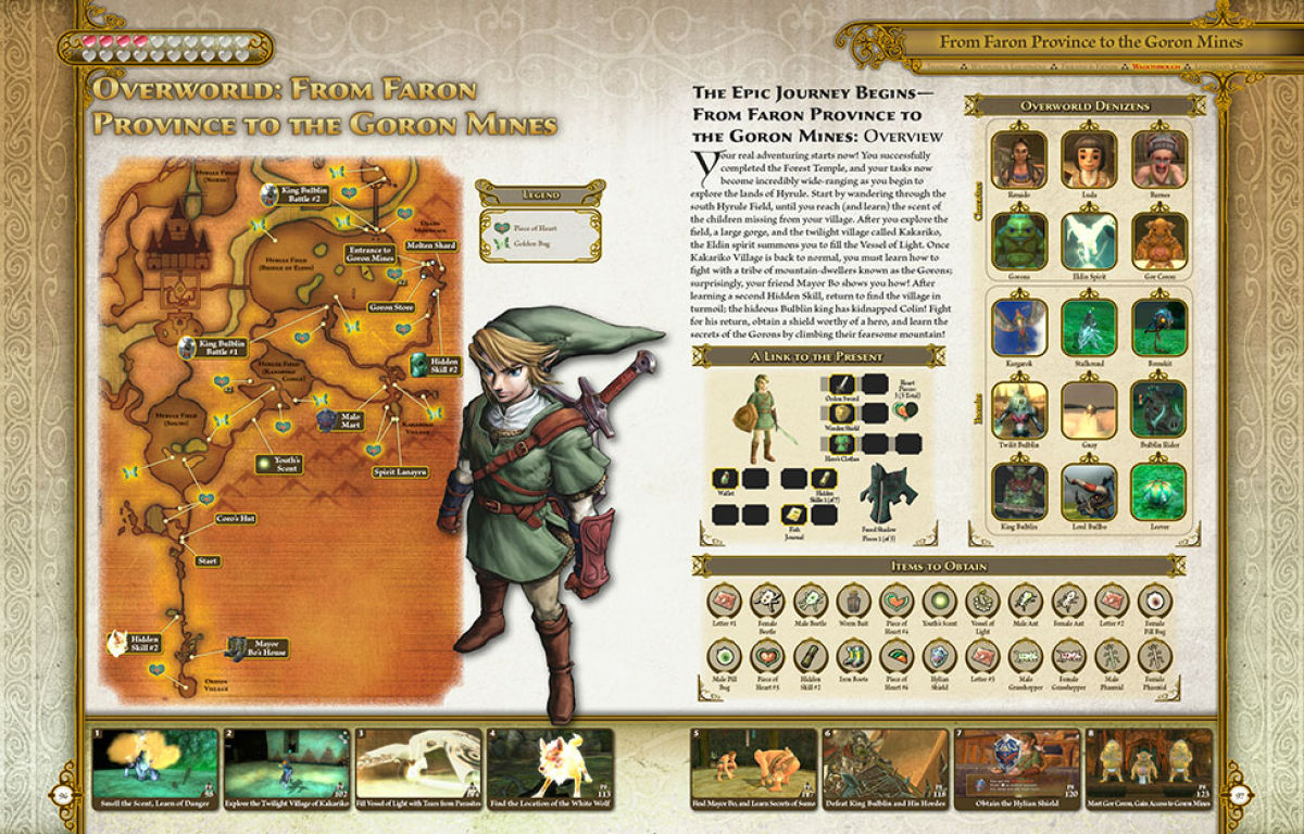 the legend of zelda twilight princess hd prima guide preview rh gonintendo com Prima Ballerina Sneakers zelda twilight princess prima guide