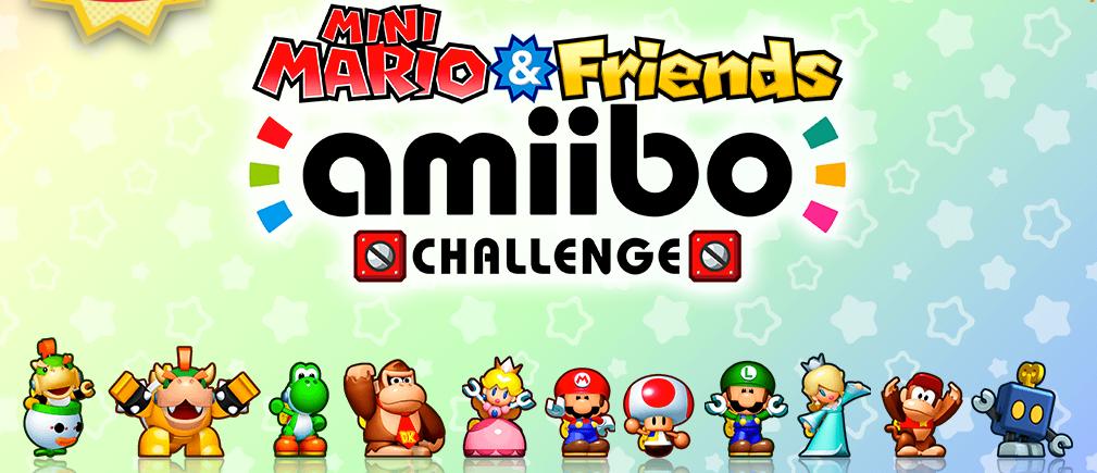 Mini Mario & Friends amiibo Challenge - website open | GoNintendo