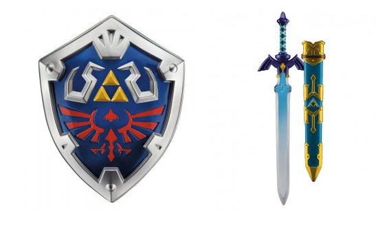 New Licensed Zelda Master Sword And Shield Replicas From Merchoid