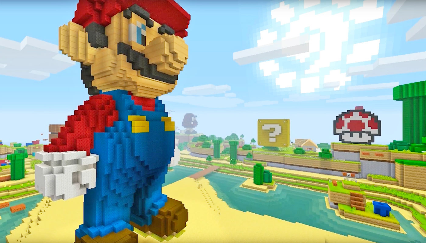 MojangJ Came To Nintendo With Their Ideas For The Minecraft Mario - Minecraft spielen mojang