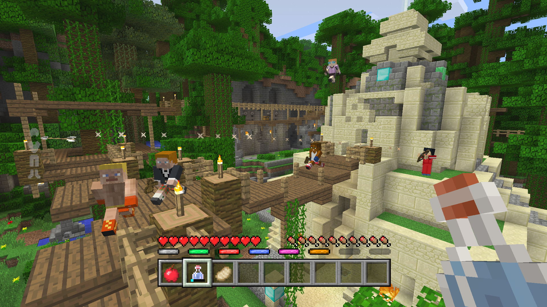 Minecraft Wii U Edition Full Change Log For The June 21st Update