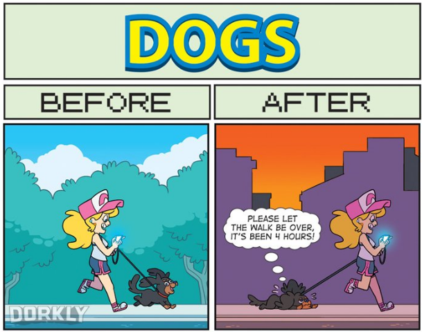 dorkly comic life before pokemon go and after gonintendo