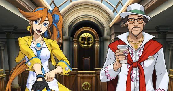 Ace Attorney Character Profiles Athena Cykes And Roger Retinz