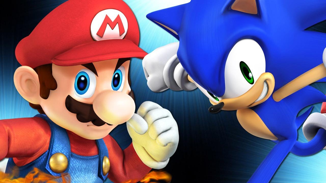 Sonic Vs Mario