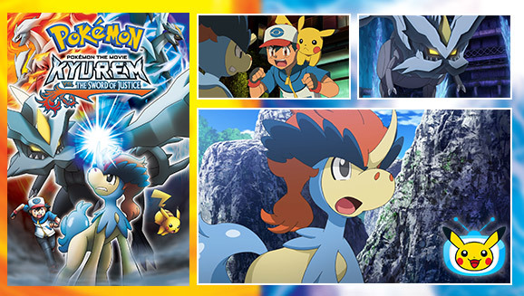 Keldeo And Kyurem Clash In An Epic Pokemon Movie Gonintendo
