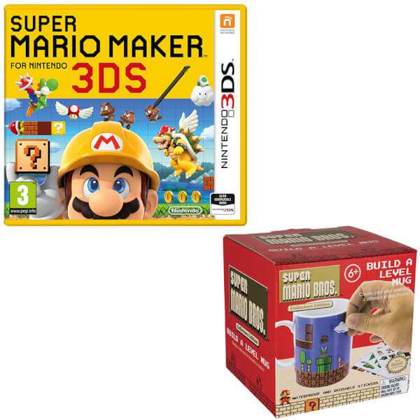 Nintendo 3 ds super mario maker
