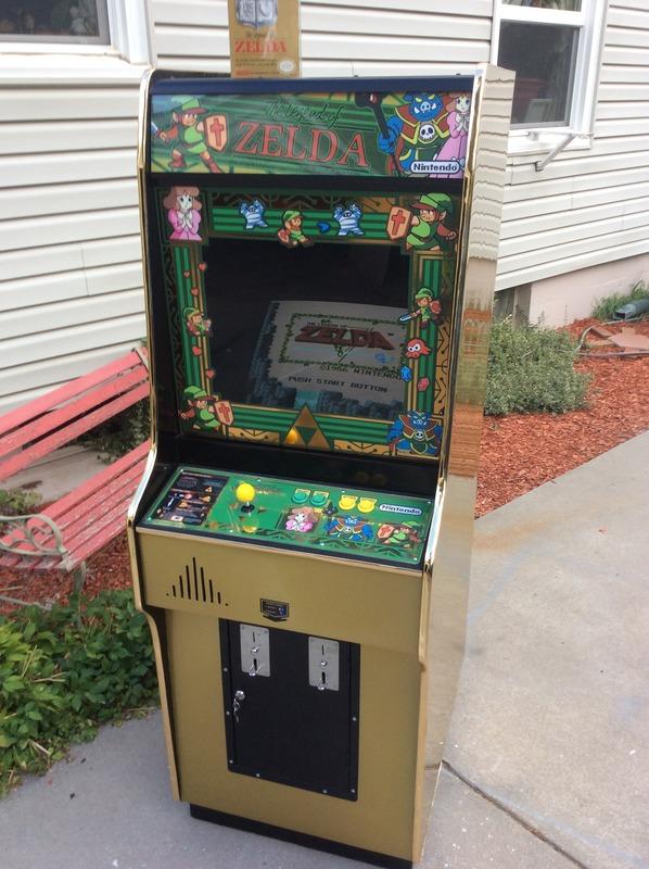 Fan-Art: Custom Legend of Zelda arcade cabinet | GoNintendo