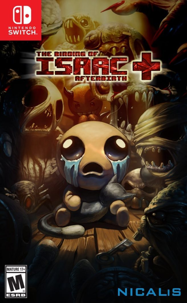 Binding of Isaac: Afterbirth+ - Switch boxart | GoNintendo