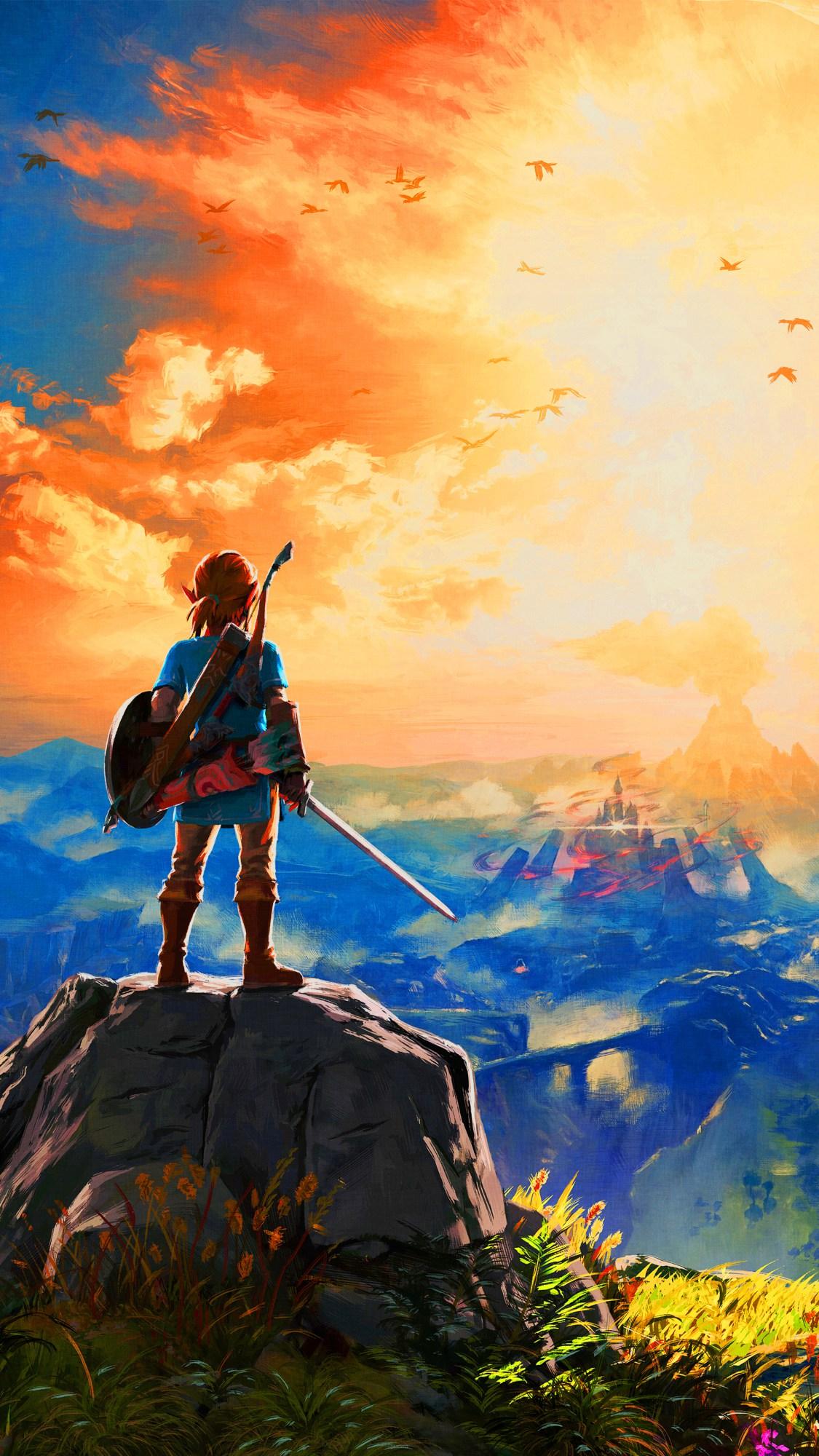 Fan Art Legend Of Zelda Breath Of The Wild Phone