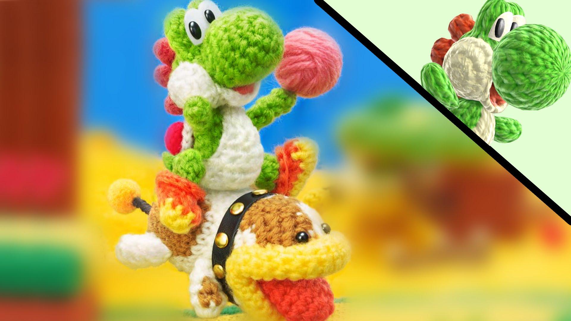 Resultado de imagen de Poochy & Yoshi's Woolly World 3ds