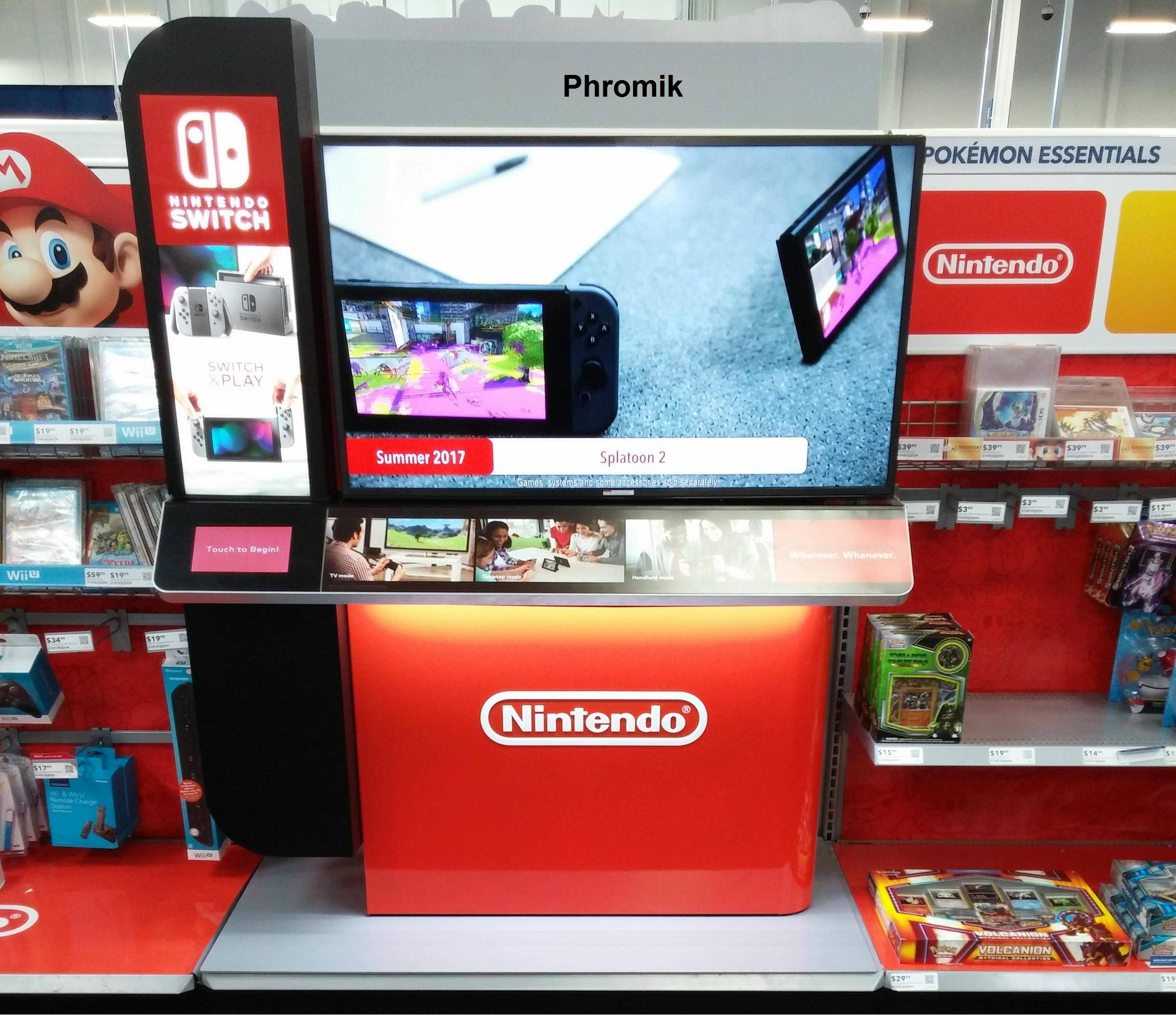 A Look At Best Buy S Full Switch Interactive Display Gonintendo