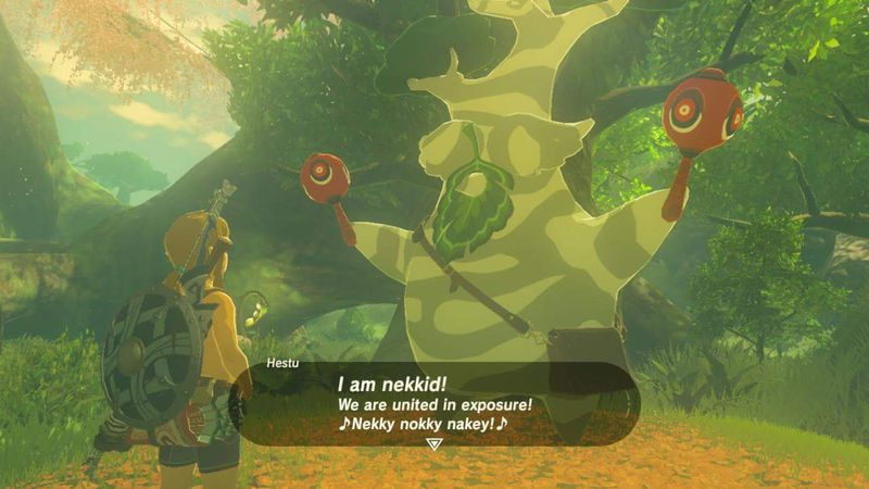 The Legend of Zelda: Breath of the Wild - How the game reacts to