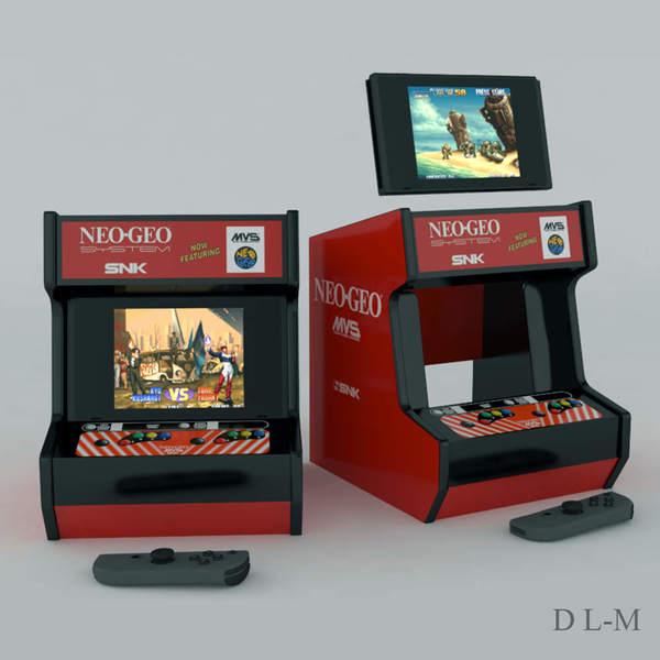 Custom 3D-printed Neo Geo Mini Arcade Cabinet For Your