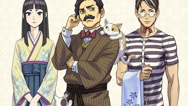 The Great Ace Attorney 2 Another Round Of Character Profiles Gonintendo