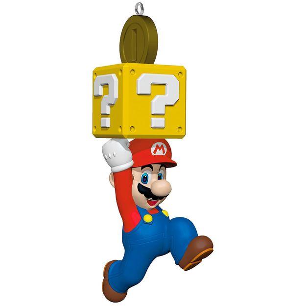 Super Mario Christmas Tree Ornament Hitting Hallmark On