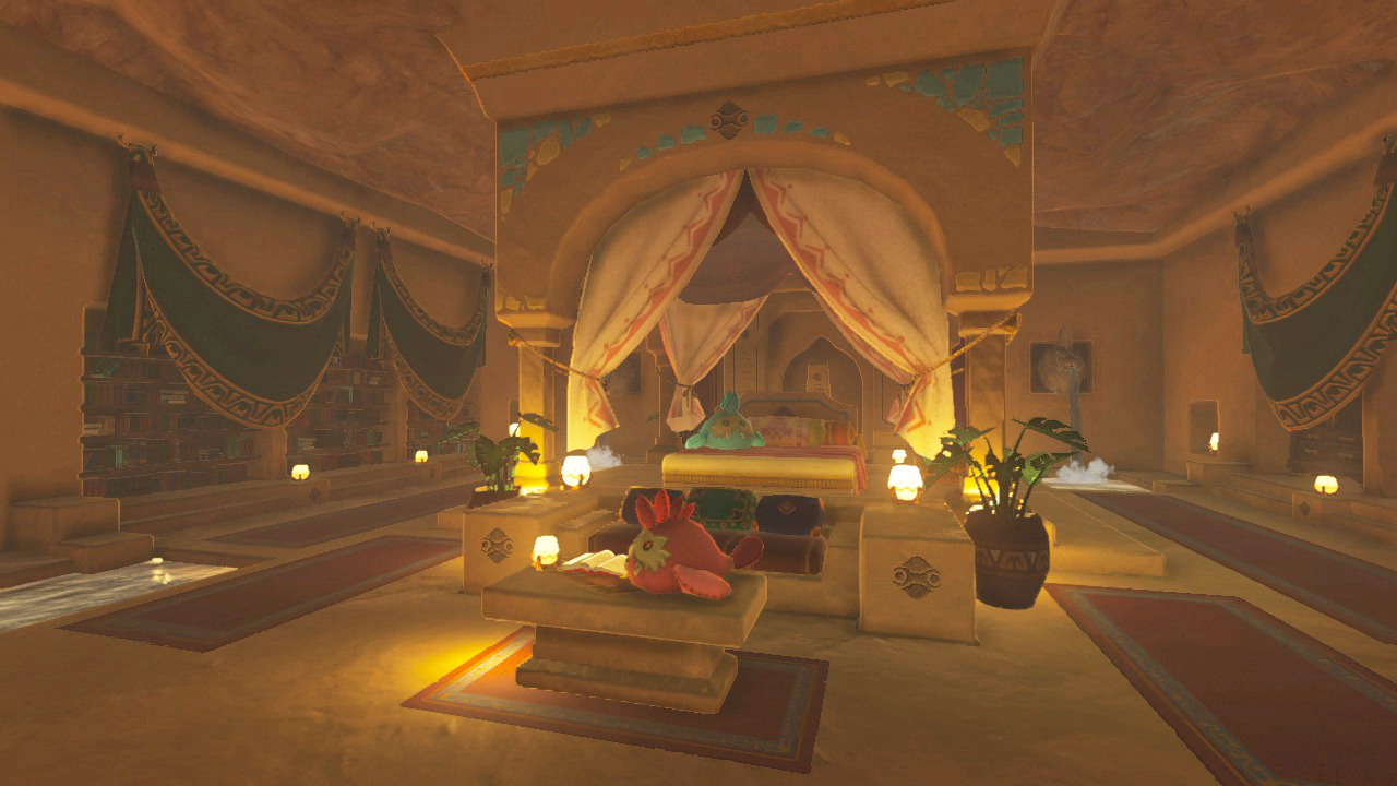 The Legend Of Zelda: Breath Of The Wild   Dev Blog Post On Towns And  Interior Design