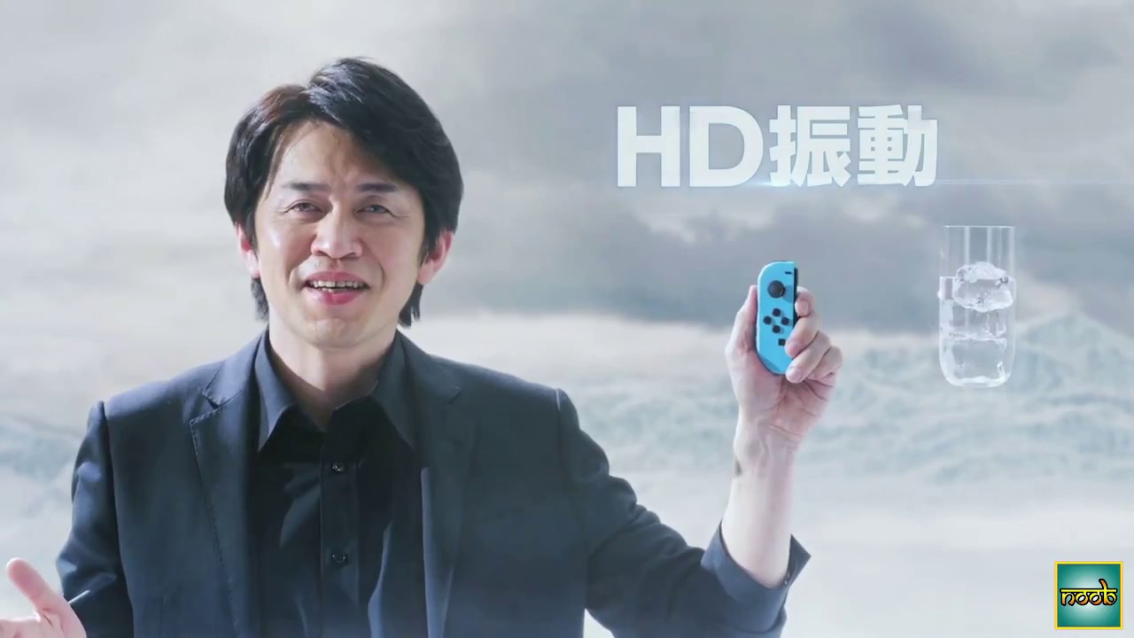 The subtle sound effects of the Switch's HD Rumble (with