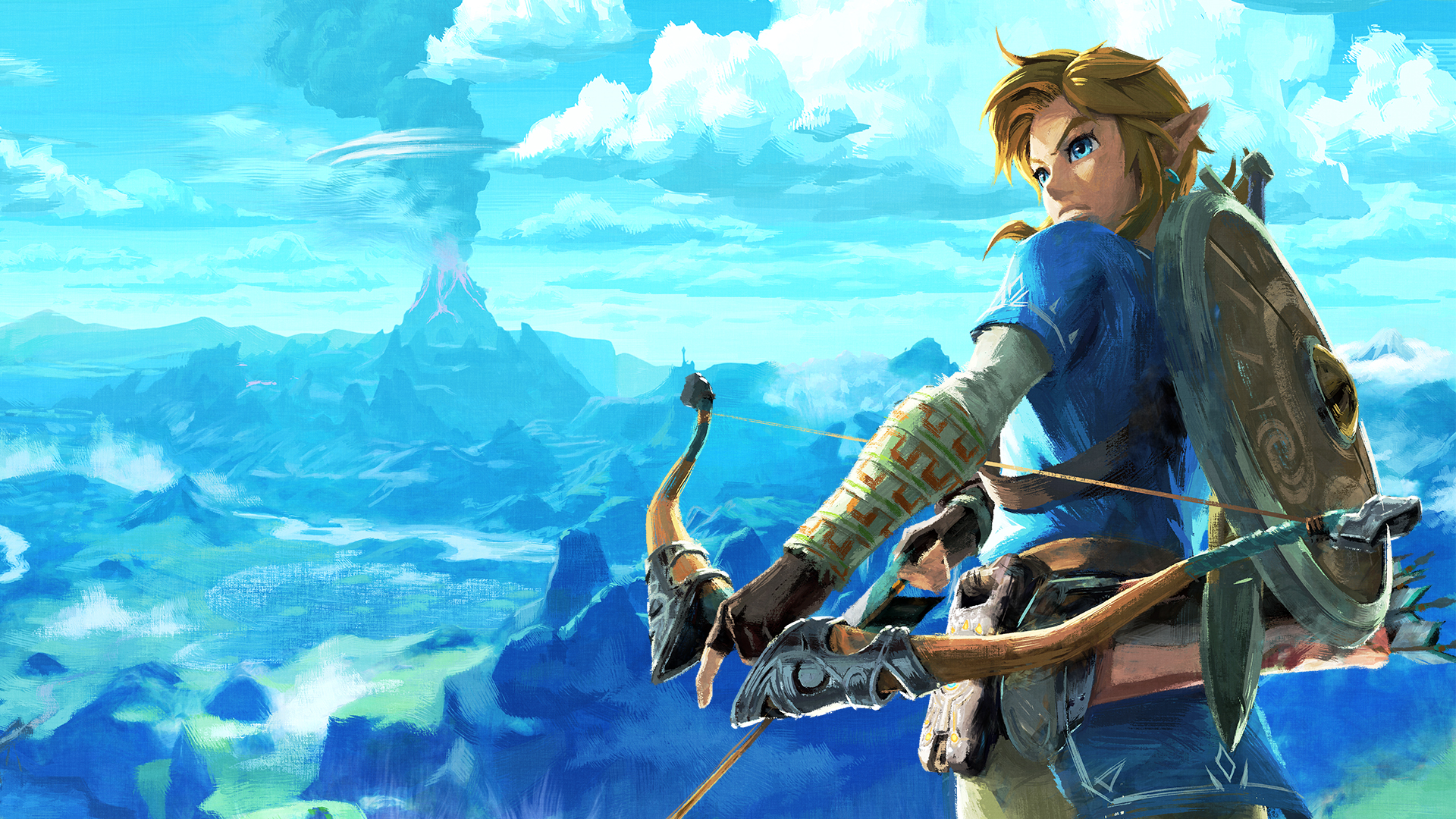 Nintendo Releases Legend Of Zelda Breath Of The Wild Happy
