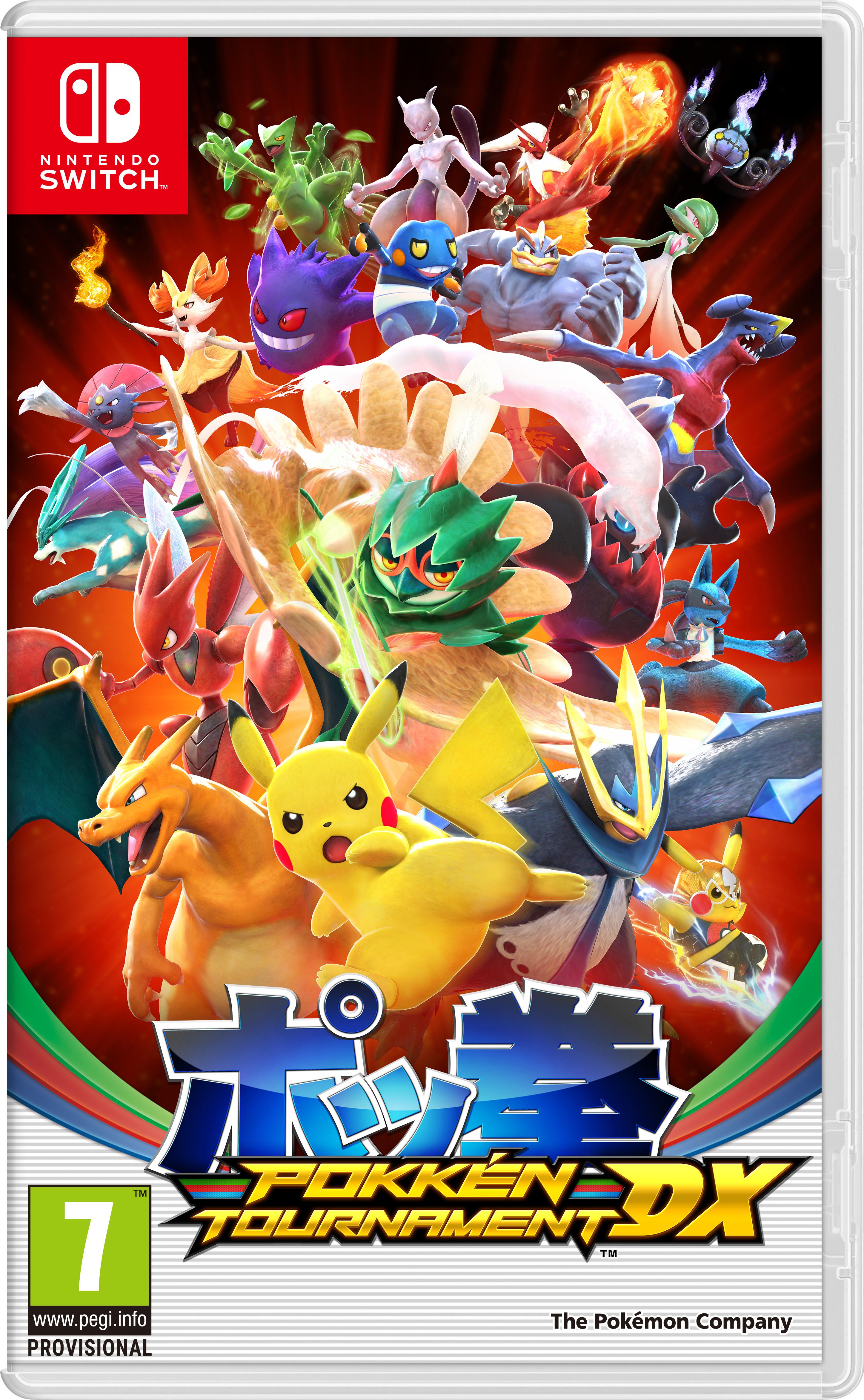 Anunciado Pokkén Tournament DX para Nintendo Switch, y  Pokémon UltraSol y UltraLuna  para 3DS