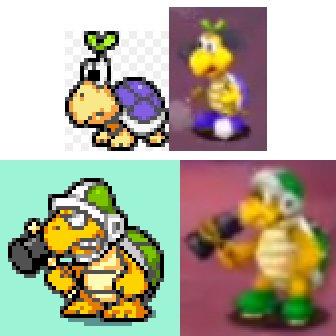 Mario And Luigi Superstar Saga Bowser S Minions Graphics