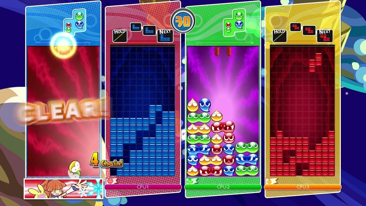 Puyo Tetris Masters Will Face Off At Evo 2017 Gonintendo Game Nintendo Switch