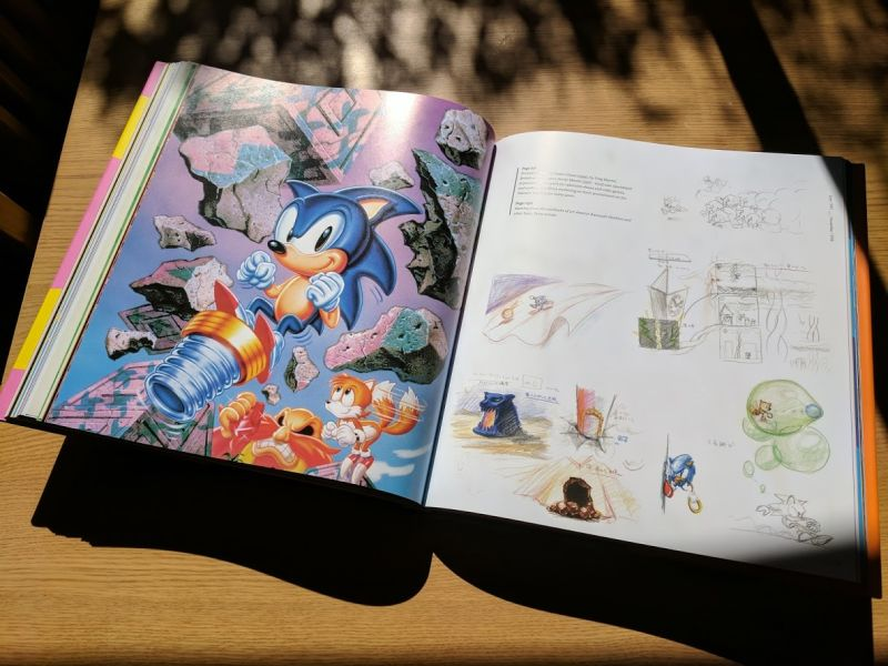 Sonic The Hedgehog 25th Anniversary Art Book Another Round Of Preview Pages Gonintendo