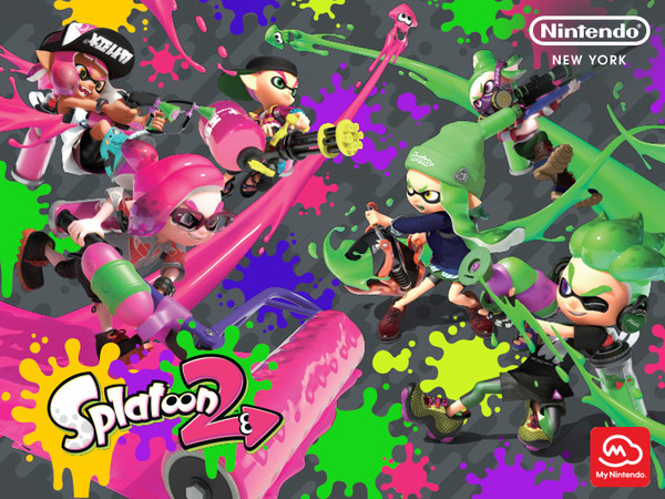 my nintendo member exclusive get a free splatoon 2 poster at