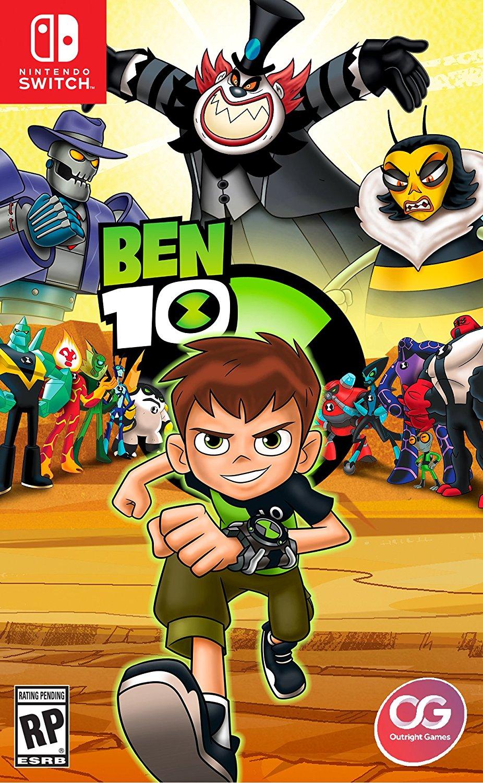 Ben 10, Outright Games, Bandai Namco, Nintendo, Switch