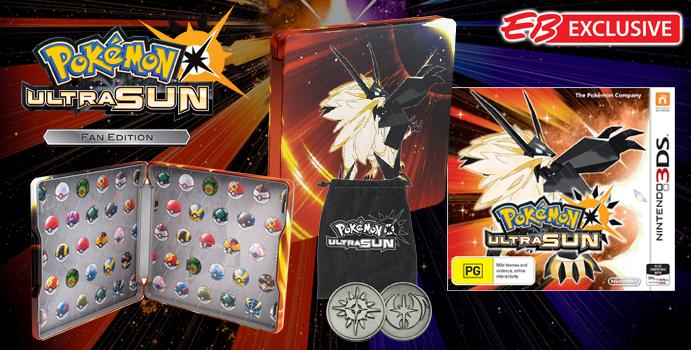 what is pokemon ultra sun fan edition