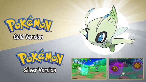 Official Pr Get A Special Celebi With Pokémon Gold Or Pokémon Silver Gonintendo
