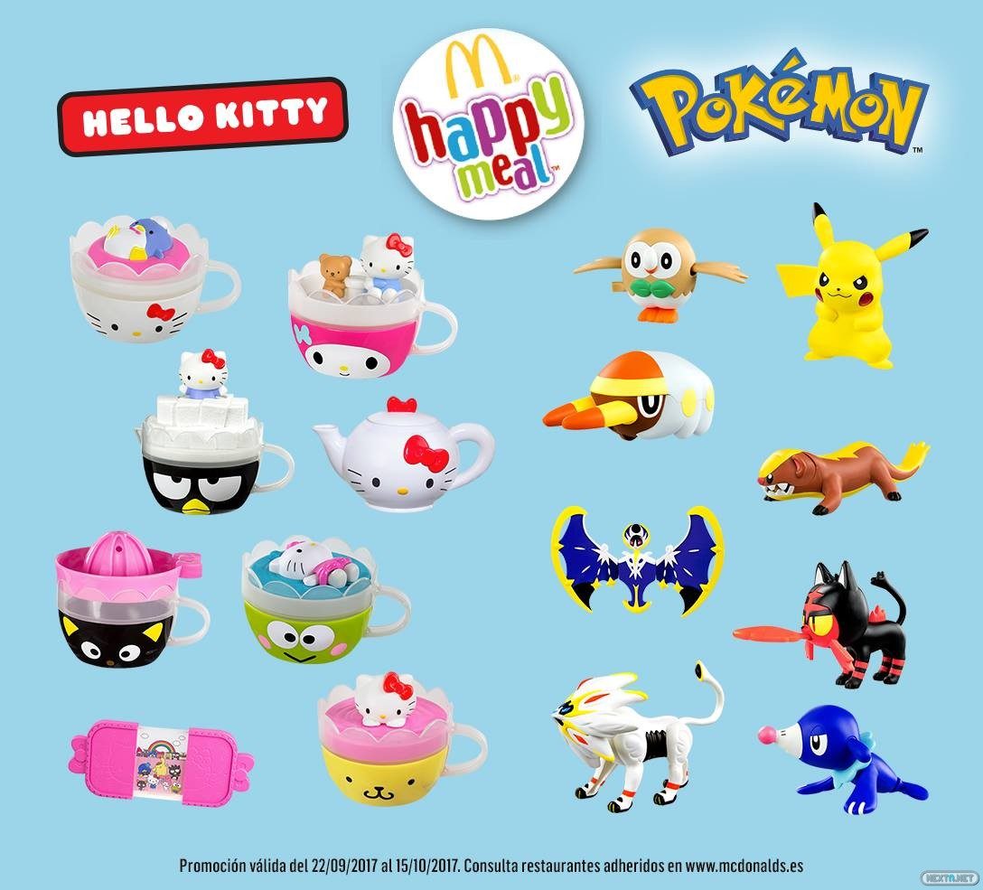 happy meal toys schedule 2017