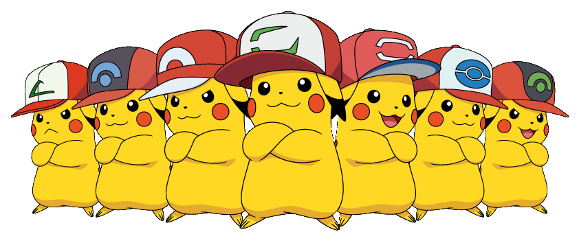 Pokemon Sun Moon Kalos Cap Pikachu Available Gonintendo