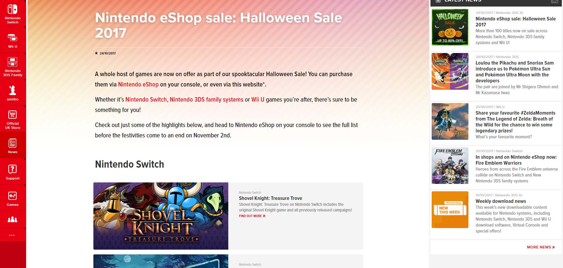 Nintendo halloween sale now live in europe gonintendo try watching this video on youtube or enable javascript if it is disabled in your browser ccuart Images