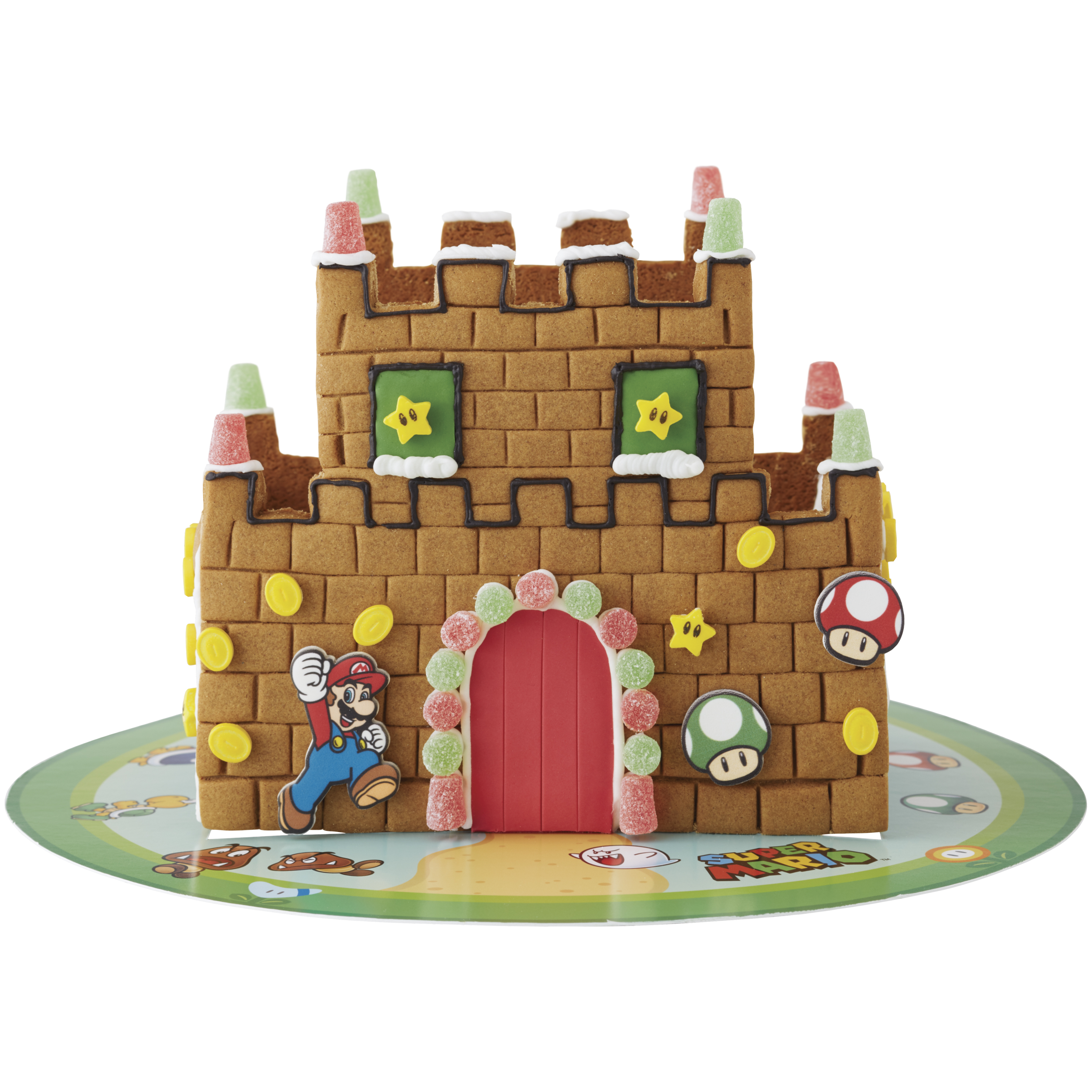 Walmart selling Super Mario Bros. Gingerbread Castle Kit | PerezStart