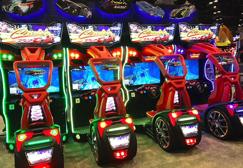 Image result for dave and busters cruisn blast