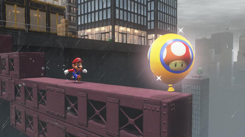 Super Mario Odyssey - More tidbits on Luigi's Balloon World, even