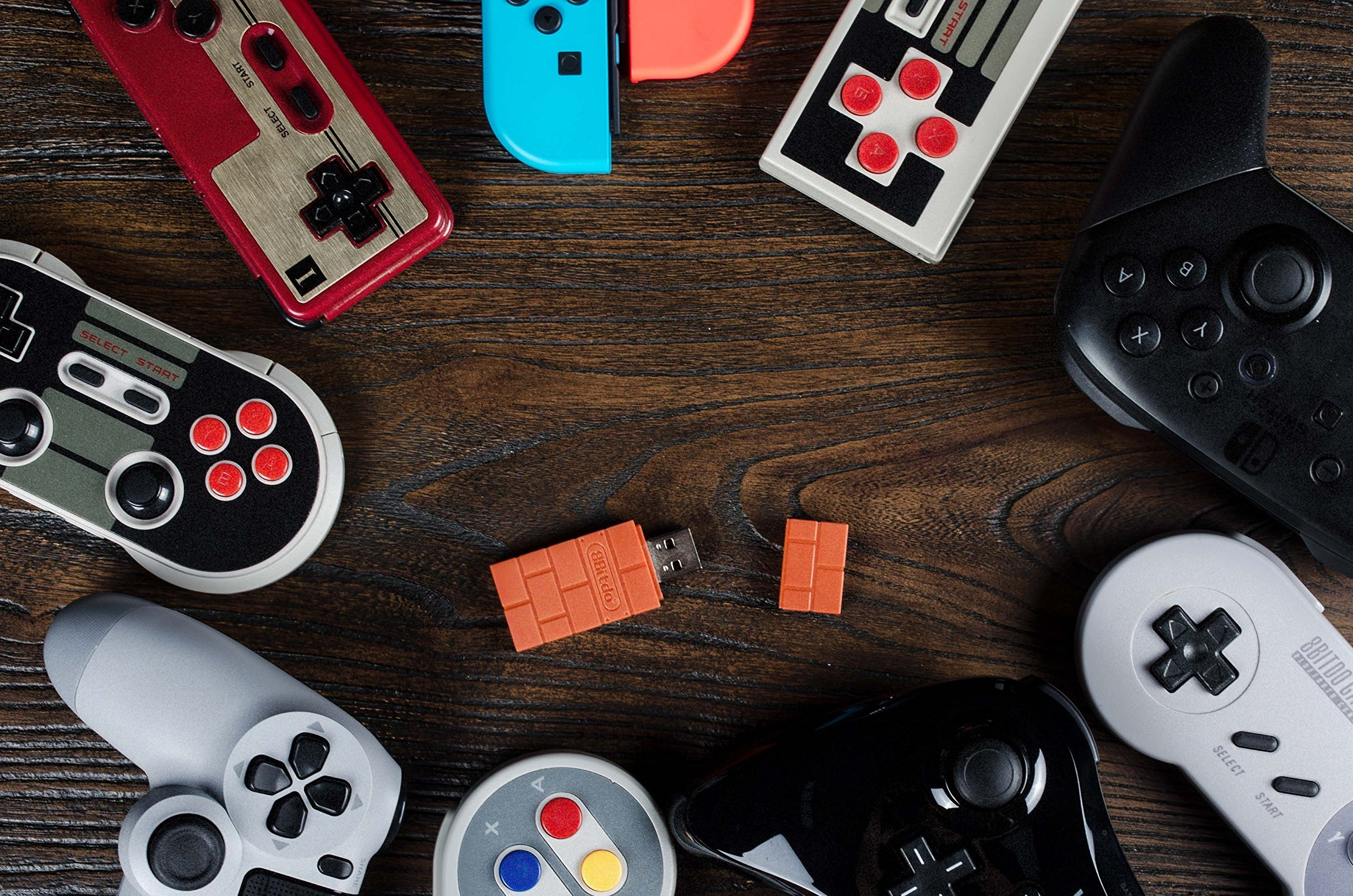 8Bitdo Wireless Bluetooth Adapter for Switch now available